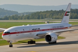 k-spotterさんが、チューリッヒ空港で撮影したアミリ フライト 777-2AN/ERの航空フォト(写真)