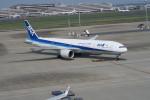 職業旅人さんが、羽田空港で撮影した全日空 777-381/ERの航空フォト(写真)
