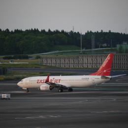 furaibo123さんが、成田国際空港で撮影したイースター航空 737-86Jの航空フォト(飛行機 写真・画像)