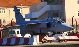 ちゅういちさんが、ジブラルタル空港で撮影したイギリス空軍 Jaguarの航空フォト(飛行機 写真・画像)