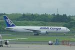 yabyanさんが、成田国際空港で撮影した全日空 767-381/ER(BCF)の航空フォト(飛行機 写真・画像)