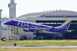ひこ☆さんが、名古屋飛行場で撮影したフジドリームエアラインズ ERJ-170-200 (ERJ-175STD)の航空フォト(飛行機 写真・画像)