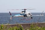 Hikobouzさんが、浦安飛行場で撮影した中日本航空 AS355F2 Ecureuil 2の航空フォト(写真)
