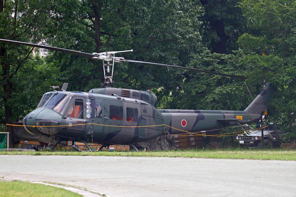 りんたろうさんの陸上自衛隊 Fuji UH-1H (41723) 航空フォト