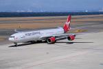 yabyanさんが、中部国際空港で撮影したヴァージン・アトランティック航空 A340-642の航空フォト(飛行機 写真・画像)