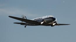 captain_uzさんが、仙台空港で撮影したスーパーコンステレーション飛行協会 DC-3Aの航空フォト(飛行機 写真・画像)