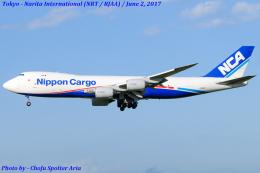 Chofu Spotter Ariaさんが、成田国際空港で撮影した日本貨物航空 747-8KZF/SCDの航空フォト(写真)