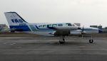 Chikaの航空見聞録さんが、八尾空港で撮影した府中エアサービス 402Bの航空フォト(写真)