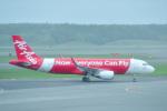 パンダさんが、新千歳空港で撮影したエアアジア・ジャパン A320-216の航空フォト(飛行機 写真・画像)