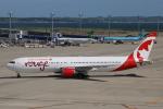 なごやんさんが、中部国際空港で撮影したエア・カナダ・ルージュ 767-375/ERの航空フォト(写真)