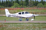 北の熊さんが、帯広空港で撮影した航空大学校 SR22の航空フォト(飛行機 写真・画像)