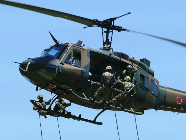 DVDさんが、古河駐屯地で撮影した陸上自衛隊 UH-1Jの航空フォト(飛行機 写真・画像)