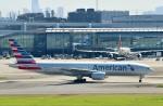 Dojalanaさんが、羽田空港で撮影したアメリカン航空 777-223/ERの航空フォト(飛行機 写真・画像)