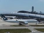ミク鉄道さんが、関西国際空港で撮影したキャセイパシフィック航空 A350-941XWBの航空フォト(写真)