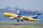 shiraponさんが、羽田空港で撮影した全日空 777-281/ERの航空フォト(写真)