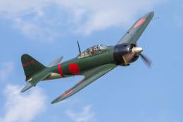 mameshibaさんが、龍ヶ崎飛行場で撮影したゼロエンタープライズ Zero 22/A6M3の航空フォト(写真)