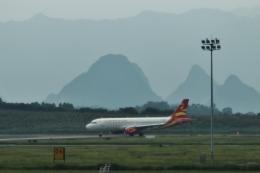 TAOTAOさんが、桂林両江国際空港で撮影した桂林航空 A320-232の航空フォト(飛行機 写真・画像)