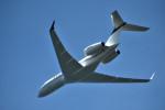 we love kixさんが、関西国際空港で撮影したウェルズ・ファーゴ・デラウェア・トラスト BD-700 Global Express/5000/6000の航空フォト(写真)