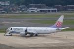 おみずさんが、福岡空港で撮影したチャイナエアライン 737-8ALの航空フォト(写真)