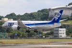 おみずさんが、福岡空港で撮影した全日空 787-8 Dreamlinerの航空フォト(写真)