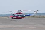 ワイエスさんが、鹿屋航空基地で撮影した鹿児島県防災航空隊 412EPの航空フォト(写真)