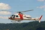 ハピネスさんが、八尾空港で撮影した朝日航洋 AS350B3 Ecureuilの航空フォト(飛行機 写真・画像)