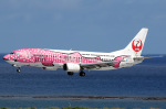 voyagerさんが、那覇空港で撮影した日本トランスオーシャン航空 737-446の航空フォト(飛行機 写真・画像)