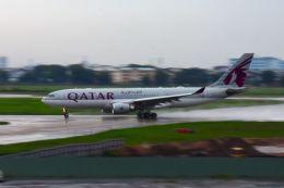 まいけるさんが、タンソンニャット国際空港で撮影したカタール航空 A330-202の航空フォト(飛行機 写真・画像)