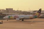 ふじいあきらさんが、羽田空港で撮影したスカイネットアジア航空 737-43Qの航空フォト(飛行機 写真・画像)