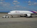 ja0hleさんが、中部国際空港で撮影したタイ国際航空 777-2D7の航空フォト(写真)