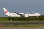 みなかもさんが、成田国際空港で撮影した日本航空 787-8 Dreamlinerの航空フォト(写真)
