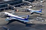 パンダさんが、新千歳空港で撮影した全日空 777-381の航空フォト(飛行機 写真・画像)