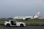いんふぃさんが、岡山空港で撮影した日本航空 737-846の航空フォト(写真)