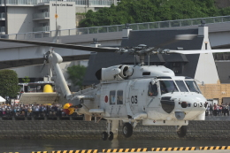はっくさんが、海上自衛隊横須賀地方隊で撮影した海上自衛隊 SH-60Kの航空フォト(飛行機 写真・画像)