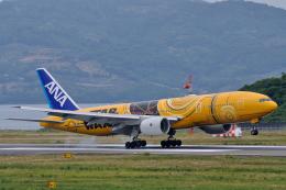 ミッキーさんが、長崎空港で撮影した全日空 777-281/ERの航空フォト(飛行機 写真・画像)