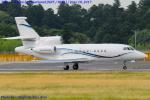 Chofu Spotter Ariaさんが、成田国際空港で撮影したアメリカ個人所有 Falcon 900EXの航空フォト(写真)