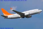 Chofu Spotter Ariaさんが、羽田空港で撮影したハンワ・ケミカル 737-7HF BBJの航空フォト(飛行機 写真・画像)