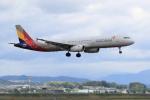 多楽さんが、仙台空港で撮影したアシアナ航空 A321-231の航空フォト(写真)