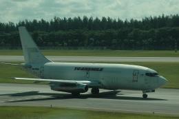 flying-dutchmanさんが、シンガポール・チャンギ国際空港で撮影したトランスマイル・エア・サービス 737-209/Advの航空フォト(飛行機 写真・画像)