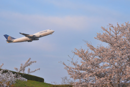 sepia2016さんが、成田国際空港で撮影したユナイテッド航空 747-422の航空フォト(飛行機 写真・画像)