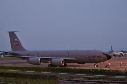 鹿児島のぽりっす♪さんが、鹿児島空港で撮影したアメリカ空軍 KC-135R Stratotanker (717-148)の航空フォト(飛行機 写真・画像)