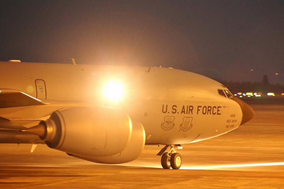 鹿児島のぽりっす♪さんのアメリカ空軍 Boeing C-135 Stratolifter (57-1459) 航空フォト
