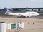 HANEDA 747さんが、成田国際空港で撮影したユナイテッド航空 747-422の航空フォト(写真)