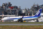 サボリーマンさんが、松山空港で撮影した全日空 737-881の航空フォト(飛行機 写真・画像)