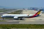 naranokazeさんが、関西国際空港で撮影したアシアナ航空 A350-941XWBの航空フォト(写真)