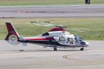 yabyanさんが、名古屋飛行場で撮影した読売新聞 AS365N2 Dauphin 2の航空フォト(写真)