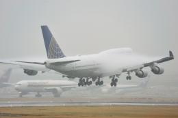 saoya_saodakeさんが、成田国際空港で撮影したユナイテッド航空 747-451の航空フォト(飛行機 写真・画像)