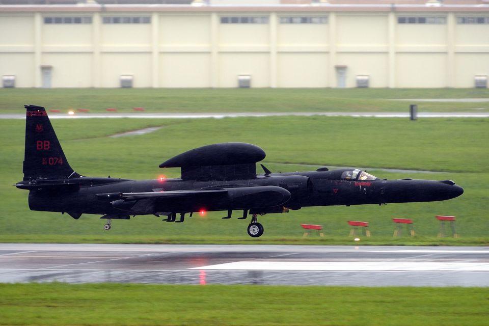 うめやしきさんのアメリカ空軍 Lockheed U-2 Dragon Lady (80-1074) 航空フォト