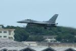 うめやしきさんが、嘉手納飛行場で撮影したアメリカ空軍 F-16C-30-CF Fighting Falconの航空フォト(飛行機 写真・画像)