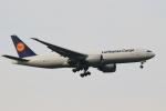 こだしさんが、成田国際空港で撮影したルフトハンザ・カーゴ 777-FBTの航空フォト(写真)